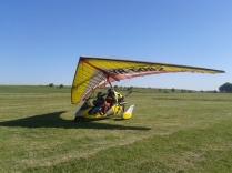 Hand-glier in Comana