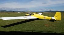 Motor-hand-glider