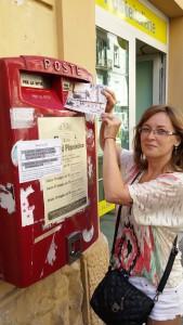 de trimis - 32 - pasiunea si talentul - Diana Andrei - Carti postale 2
